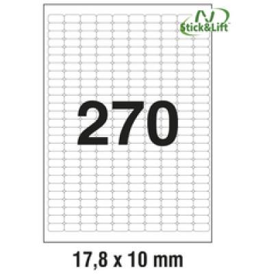 Etikete ILK 17,8x10mm odljepljive pk25L Zweckform L4730REV-25